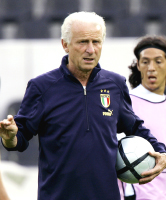 Giovanni Trapattoni Ireland National Team coach and member of AIAC, we offer Italian coaches for your professional league, soccer team or for your football soccer school, Italian football soccer school to the world thanks to WBN and AIAC - the Italian football soccer association of coaches - the Italian football soccer school offers to the international players and teams the World Champions technical and tactical training to the USA soccer teams, Canada soccer players, UAE soccer league, Saudi Arabia teams, Australia teams and soccer players. We offer also customized training for soccer lovers as begineers camps, young soccer camps, girls football soccer training and professional Italian soccer Coaches for your team, our Italian soccer school offers the most prestige and winner Football Soccer coach camps and training in the world ready to coach in your country and become a Champion in your league