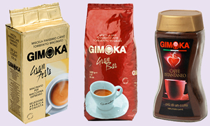Italian coffee taste to distributors and wholesale manufacturers in the USA, Asia, Europe and South America Gimoka Coffee contains what we believe is the best combination of aroma and taste for a rich cup of distinctive coffee