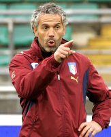 Roberto Donadoni ex Italian National team coach and member of AIAC, we offer Italian coaches for your professional league, soccer team or for your football soccer school, Italian football soccer school to the world thanks to WBN and AIAC - the Italian football soccer association of coaches - the Italian football soccer school offers to the international players and teams the World Champions technical and tactical training to the USA soccer teams, Canada soccer players, UAE soccer league, Saudi Arabia teams, Australia teams and soccer players. We offer also customized training for soccer lovers as begineers camps, young soccer camps, girls football soccer training and professional Italian soccer Coaches for your team, our Italian soccer school offers the most prestige and winner Football Soccer coach camps and training in the world ready to coach in your country and become a Champion in your league