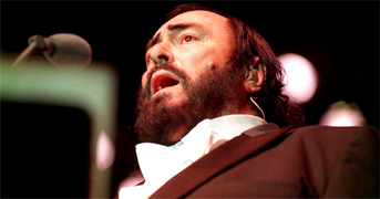 "Luciano Pavarotti in 1972 he starred in a commercial film, Yes, Giorgio. His solo album of Neapolitan songs, ""O Sole Mio,"" outsold any other record by a classical singer. Throughout the 1980s Pavarotti strengthened his status as opera world's leading figures. Televised performances of Pavarotti in many of his greatest and favorite roles not only helped him maintain his status, but to broaden his Italian tenor appeal."